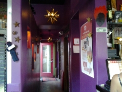 screaming Banshee colorful hallway