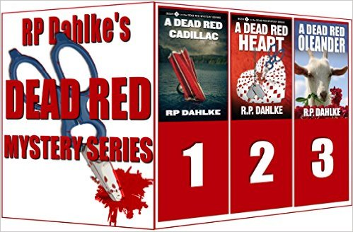 boxed set of 3 in the Dead Red Mystery Series